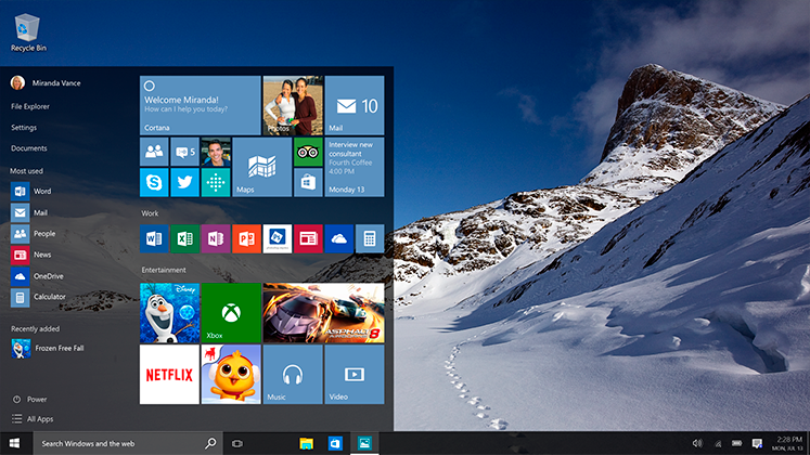 Windows 10 ya está disponible